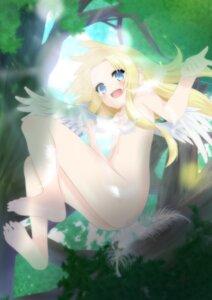 Rating: Questionable Score: 12 Tags: censored feet firo loli naked nina_(artist) tate_no_yuusha_no_nariagari wings User: ryoga828
