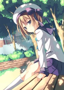 Rating: Safe Score: 72 Tags: blanc choujigen_game_neptune kinta_(distortion) seifuku User: fairyren