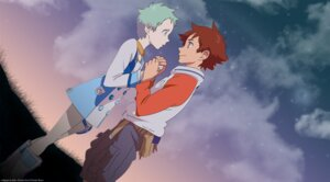Rating: Safe Score: 7 Tags: eureka eureka_seven renton_thurston signed User: fluke