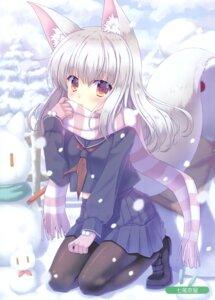 Rating: Safe Score: 24 Tags: animal_ears kitsune nanao_naru pantyhose seifuku tagme tail User: kiyoe