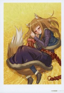 Rating: Safe Score: 4 Tags: animal_ears holo koume_keito spice_and_wolf tail User: kiyoe