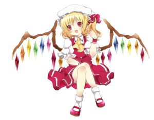 Rating: Safe Score: 11 Tags: flandre_scarlet kusumoto_shizuru touhou wings User: Radioactive
