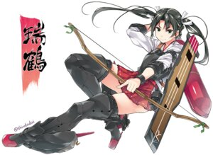 Rating: Safe Score: 30 Tags: heels kantai_collection shirota_dai thighhighs weapon zuikaku_(kancolle) User: fairyren