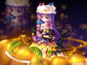 Rating: Safe Score: 8 Tags: grandia_(artist) patchouli_knowledge touhou wallpaper User: Shamensyth
