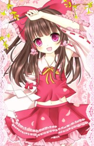 Rating: Safe Score: 30 Tags: hakurei_reimu harukaruha touhou User: Nekotsúh