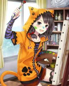 Rating: Safe Score: 27 Tags: school_fanfare tail thighhighs User: saemonnokami