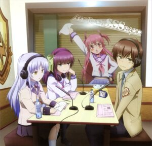 Rating: Safe Score: 50 Tags: angel_beats! headphones ooyama paper_texture seifuku tenshi yui_(angel_beats!) yurippe User: Ravenblitz