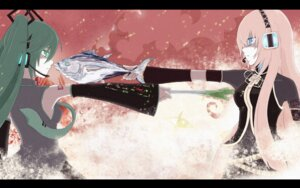 Rating: Safe Score: 12 Tags: auer hatsune_miku megurine_luka vocaloid User: yumichi-sama
