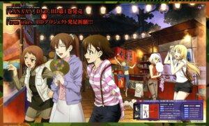 Rating: Safe Score: 15 Tags: ando_aiko canaan canaan_(character) crossover isurugi_noe oosawa_maria sekiguchi_kanami true_tears wallpaper yuasa_hiromi yunyun User: vita