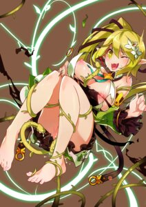 Rating: Explicit Score: 88 Tags: alicecrazy bondage breasts elsword nipples no_bra nopan pointy_ears pussy_juice rena_(elsword) tentacles torn_clothes User: Mr_GT