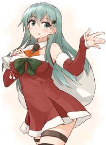 Rating: Safe Score: 36 Tags: christmas cleavage dress kantai_collection shunichi suzuya_(kancolle) User: Mr_GT