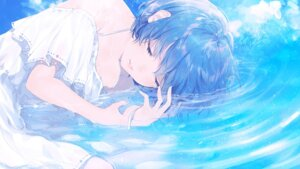 Rating: Safe Score: 11 Tags: sudach_koppe wallpaper wet wet_clothes User: RyuZU