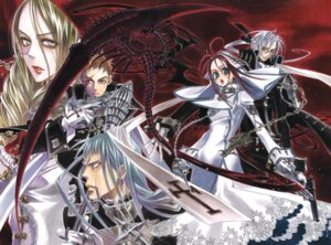 Rating: Safe Score: 4 Tags: abel_nightroad kyuujou_kiyo trinity_blood User: Radioactive