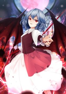 Rating: Safe Score: 21 Tags: remilia_scarlet sinkai touhou weapon wings User: Nepcoheart
