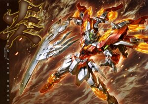 Rating: Safe Score: 32 Tags: gundam gundam_build_fighters gundam_wing mecha morishita_naochika sword weapon wing_gundam_zero wings User: drop