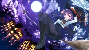 Rating: Safe Score: 39 Tags: akebono_(kancolle) akikan_(10552397) halloween kantai_collection pantsu pantyhose wallpaper witch User: LolitaJoy