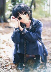 Rating: Safe Score: 85 Tags: kazuharu_kina pantsu seifuku User: 大包平