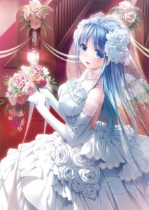 Rating: Safe Score: 87 Tags: dress narumi_suzune see_through wedding_dress User: Twinsenzw