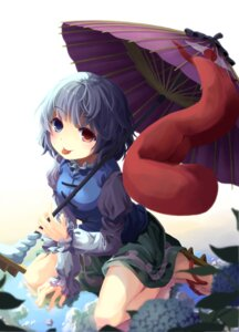 Rating: Safe Score: 15 Tags: heterochromia mikkii tatara_kogasa touhou User: 椎名深夏