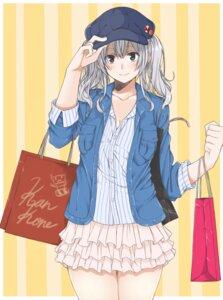 Rating: Safe Score: 22 Tags: amu_(258shin) cleavage kantai_collection kashima_(kancolle) User: Mr_GT