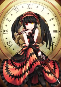 Rating: Safe Score: 47 Tags: chiiririn date_a_live dress gothic_lolita gun heterochromia jpeg_artifacts lolita_fashion tokisaki_kurumi User: nphuongsun93