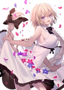 Rating: Safe Score: 89 Tags: dress fate/grand_order jeanne_d'arc jeanne_d'arc_(fate) shinooji skirt_lift User: nphuongsun93