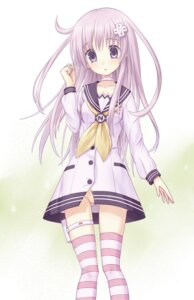 Rating: Questionable Score: 54 Tags: choujigen_game_neptune choujigen_game_neptune_mk2 nepgear nopan ohirune seifuku thighhighs User: Radioactive