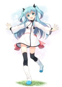 Rating: Safe Score: 50 Tags: dress hyuuga_azuri noel_(sora_no_method) sora_no_method thighhighs User: fairyren