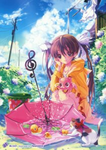 Rating: Safe Score: 23 Tags: neko tsucaco umbrella User: Twinsenzw