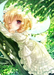 Rating: Safe Score: 34 Tags: dress konomi luna_child macchatei_koeda touhou wings User: blooregardo