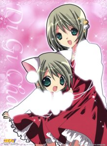Rating: Safe Score: 12 Tags: animal_ears dejiko di_gi_charat dress koge_donbo nekomimi winter_garden User: vita