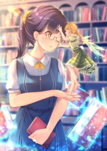 Rating: Safe Score: 28 Tags: fairy megane seifuku unwitherer wings User: Mr_GT