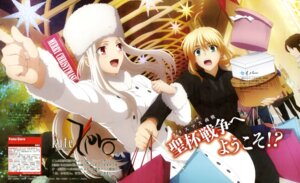 Rating: Safe Score: 33 Tags: fate/stay_night fate/zero irisviel_von_einzbern saber yamazaki_miki User: Ravenblitz