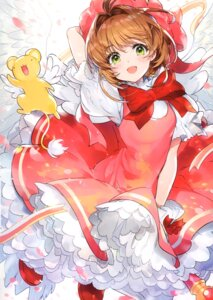 Rating: Safe Score: 27 Tags: card_captor_sakura dress kerberos kinomoto_sakura lolita_fashion mika_pikazo tagme weapon wings User: kiyoe