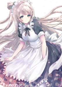 Rating: Safe Score: 56 Tags: alicetype dress love_live! maid minami_kotori User: KazukiNanako