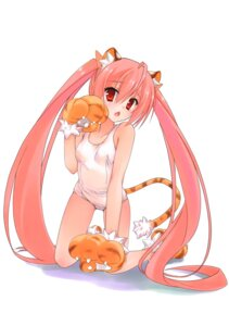Rating: Safe Score: 93 Tags: animal_ears hidan_no_aria kanzaki_h_aria kobuichi nekomimi school_swimsuit swimsuits tail User: 椎名深夏