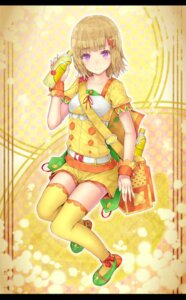 Rating: Safe Score: 20 Tags: c.c._lemon c.c._lemon_(character) hourainingyou thighhighs User: VorpalNeko