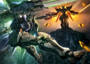 Rating: Safe Score: 13 Tags: 00_gundam gundam gundam_00 mecha User: Radioactive