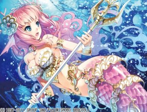 Rating: Safe Score: 79 Tags: cleavage ikeda_yasuhiro mermaid monster_collection monster_girl weapon User: Radioactive