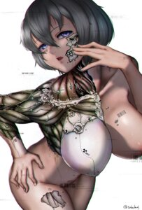 Rating: Questionable Score: 24 Tags: areola mecha_musume naked takehuxi User: asdk000