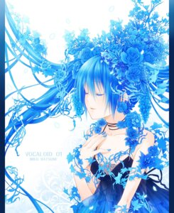 Rating: Safe Score: 34 Tags: dress hatsune_miku vocaloid yuuno_(yukioka) User: Manabi