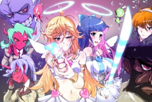 Rating: Safe Score: 64 Tags: angel azu brief chuck corset devil dress fastner garterbelt gun horns kneesocks megane panty panty_&_stocking_with_garterbelt scanty stocking sword uniform wings User: blooregardo