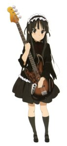 Rating: Safe Score: 21 Tags: akiyama_mio gothic_lolita guitar jpeg_artifacts k-on! lolita_fashion User: Share