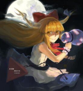 Rating: Safe Score: 2 Tags: 50+ horns ibuki_suika touhou User: itsu-chan