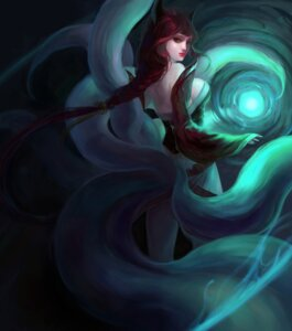 Rating: Safe Score: 13 Tags: ahri kitsune league_of_legends libera tail User: charunetra
