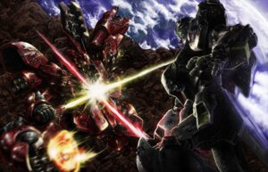 Rating: Safe Score: 24 Tags: char's_counterattack gundam mecha nu_gundam retsujin rx-93 sazabi sword User: Radioactive