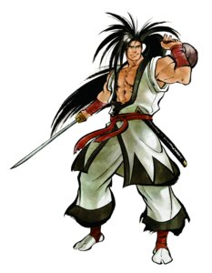 Rating: Safe Score: 4 Tags: haohmaru male samurai samurai_spirits shiroi_eiji snk sword User: Radioactive
