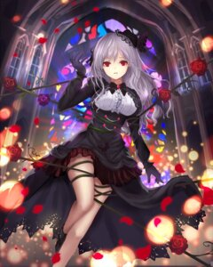 Rating: Safe Score: 89 Tags: bondage dress gothic_lolita kanzaki_ranko lolita_fashion tagme the_idolm@ster the_idolm@ster_cinderella_girls User: Mr_GT