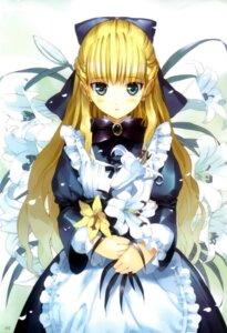 Rating: Safe Score: 43 Tags: alice alice_in_wonderland fancy_fantasia lolita_fashion ueda_ryou User: Mirukudesu
