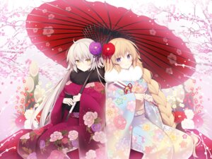 Rating: Safe Score: 37 Tags: fate/grand_order jeanne_d'arc jeanne_d'arc_(alter)_(fate) jeanne_d'arc_(fate) kimono miko_92 umbrella User: BattlequeenYume
